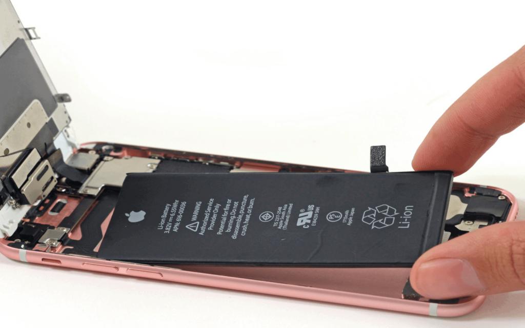 jak samemu wymienic baterie w iPhone
