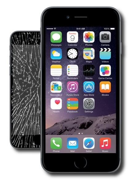 Gdy konieczna jest wymiana szybki iPhone Warszawa