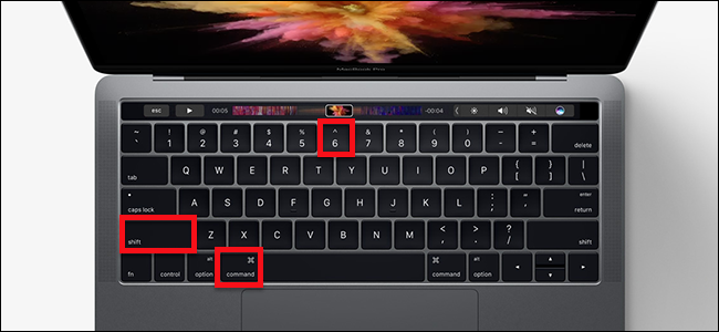 zrzut ekranu MacBook
